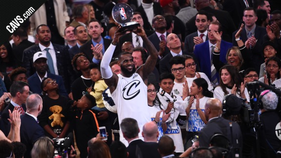 LeBron James Named All-Star MVP