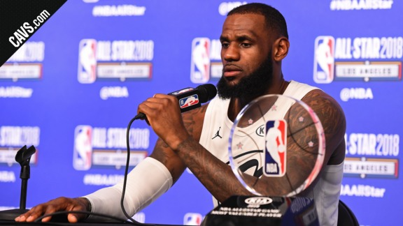 All-Star Postgame: LeBron James – February 18, 2018