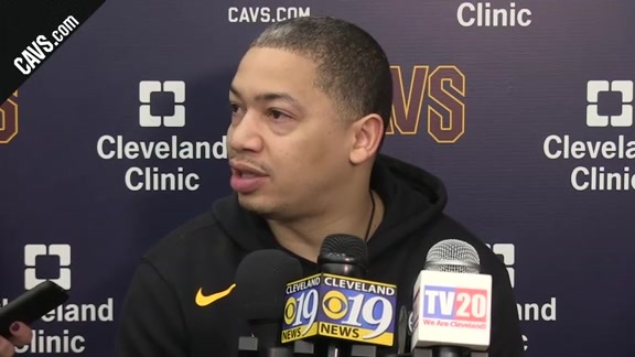 Coach Lue Discusses Practice with the New Cavs