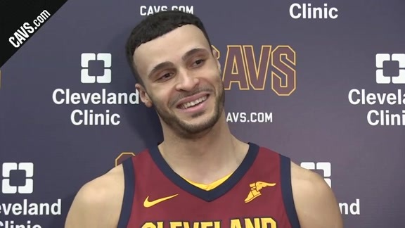 Practice: Larry Nance Jr. – February 21, 2018