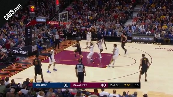 Clarkson Drives and Earns And-One