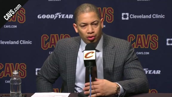 #CavsWizards Postgame: Coach Lue - February 22, 2018