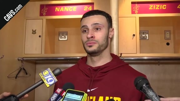 #CavsWizards Postgame: Larry Nance Jr. - February 22, 2018