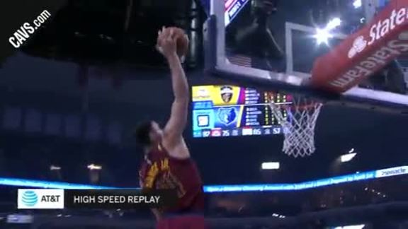 Featured Highlight: LBJ Lobs Larry Nance Jr.