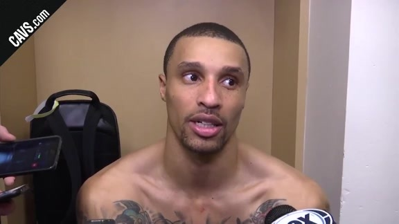 #CavsGrizzlies Postgame: George Hill - February 23, 2018