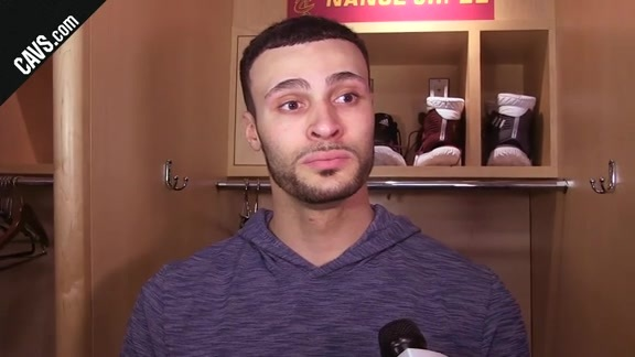 #CavsSpurs Postgame: Larry Nance Jr. - February 25, 2018