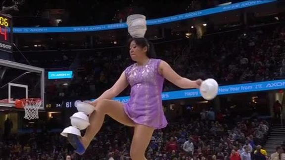 Red Panda Performs for Chinese New Year Celebration
