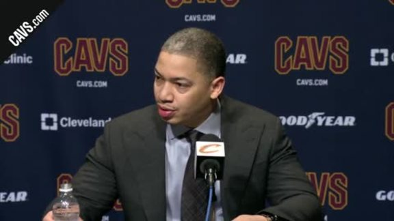 #CavsNets Postgame: Coach Lue - February 27, 2018