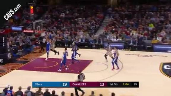 George Hill Powers Past Philly D for Dunk