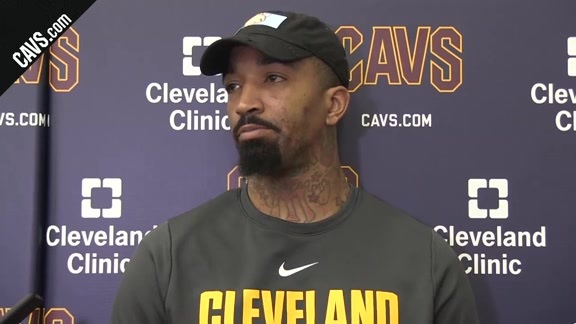 #CavsNuggets Shootaround:JR Smith-March 3, 2018