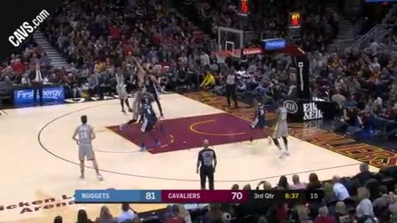 Swish Hits Pretty Stepback Jumper