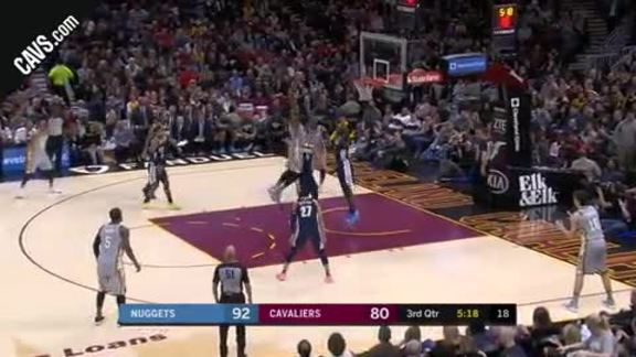 LBJ Drops a Slick Dime to TT