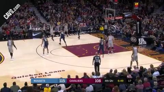 Swish Fakes Out Defender, Drains Bucket