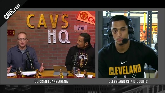 CavsHQ Season 2 Show 19: Jordan Clarkson Interview Part 1