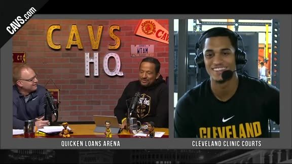 CavsHQ Season 2 Show 19: Jordan Clarkson Interview Part 2