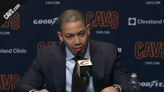 #CavsPistons Postgame: Coach Lue - March 5, 2018
