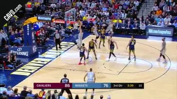 LBJ Dimes Zizic for the And-One