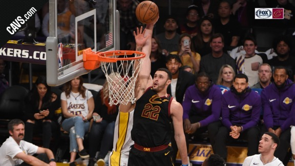 Featured Highlight: LBJ Lobs Nance Jr.