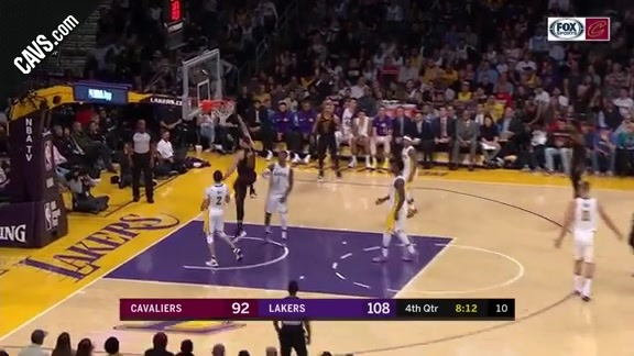 Nance Jr. Throws the Hammer Down