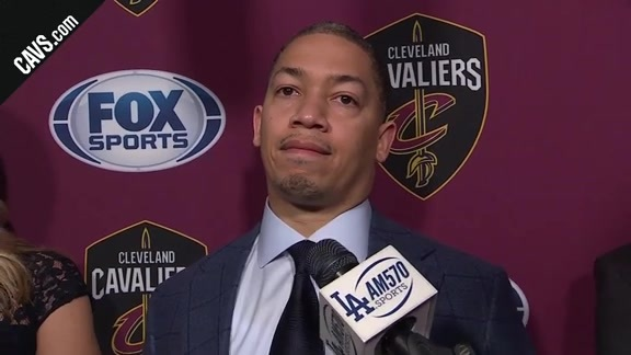 #CavsLakers Postgame: Coach Lue - March 11, 2018