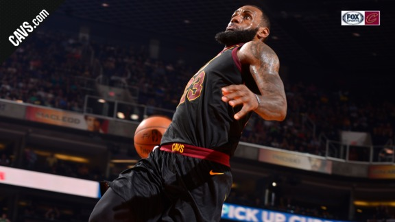 Featured Highlight: LBJ Soars for the Windmill