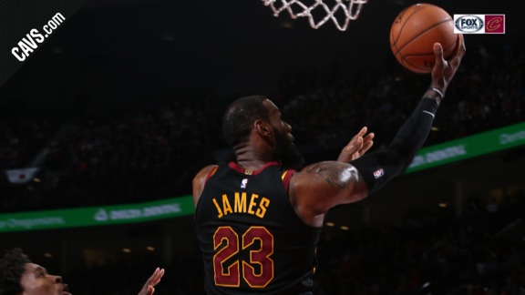 LBJ with the Reverse Finish