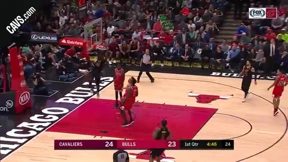 Jeff Green with the Fast Break Flush