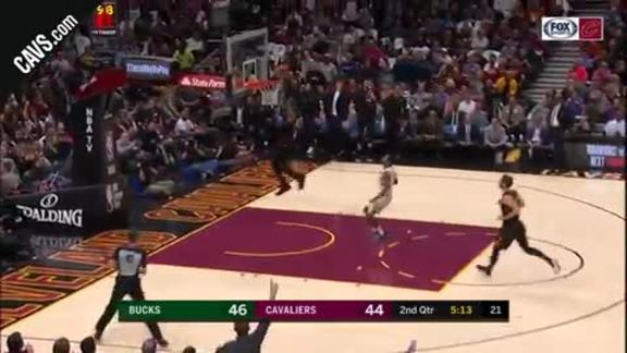 Featured Highlight: LBJ Throws Down the Hammer
