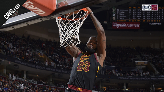 LBJ Throws Down the Hammer