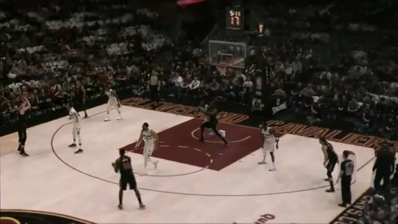 Intel True View: LBJ Hits Pretty Layup