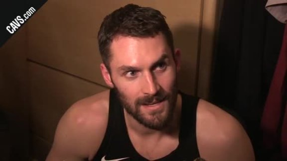#CavsBucks Postgame: Kevin Love - March 19, 2018
