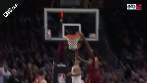 Jeff Green Pins DeRozan's Layup