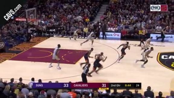 Clarkson Picks the Suns' Pocket