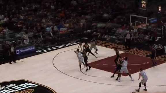 Intel True View: Jose Hits Pretty Jumper