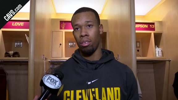 #CavsSuns Postgame: Rodney Hood - March 23, 2018