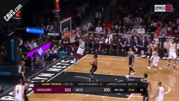 Hill and LBJ with Two Alley-Oop Connections