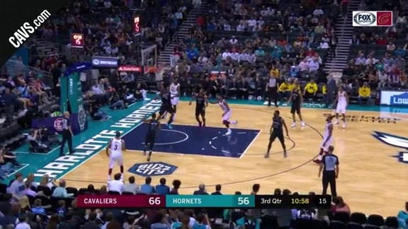Jeff Green with the Monster Slam