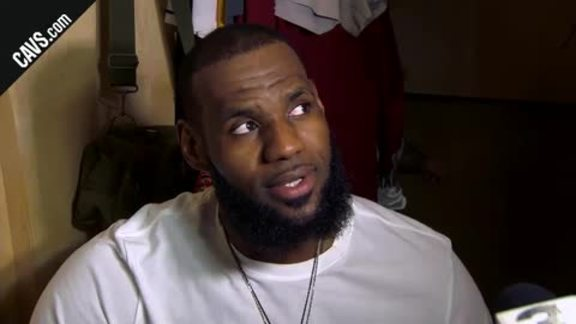 #CavsPelicans Postgame: LeBron James - March 30, 2018