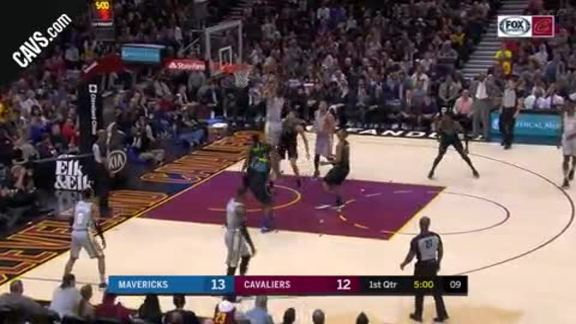 Rodney Hood Soars For the Dunk
