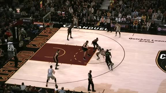Intel True View: LBJ Spins and Scores