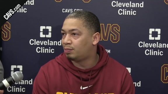 First Round Practice: Coach Lue – April 12, 2018