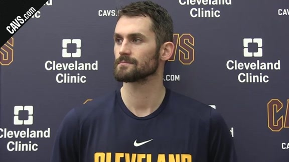 Kevin Love on Playing with Pace