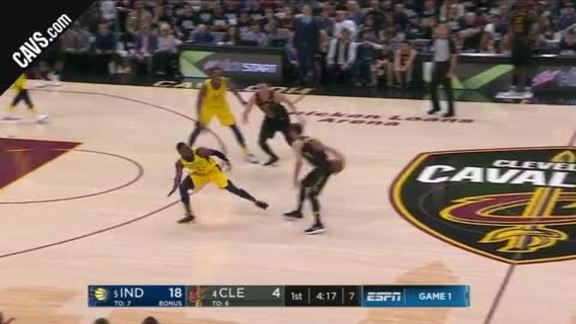 Jose Fakes Out Pacers Defender