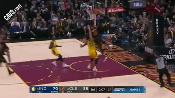 Nance Jr. Gets the Crowd Going with And-One