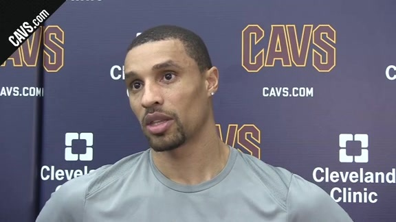 George Hill Talks #CavsPacers Game 2