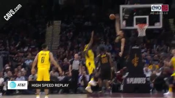 Nance Jr. with the Nasty Rejection