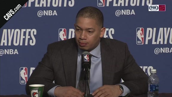 #CavsPacers Game 2 Postgame: Coach Lue - April 18, 2018
