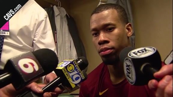 #CavsPacers Game 3 Postgame: Rodney Hood - April 20, 2018