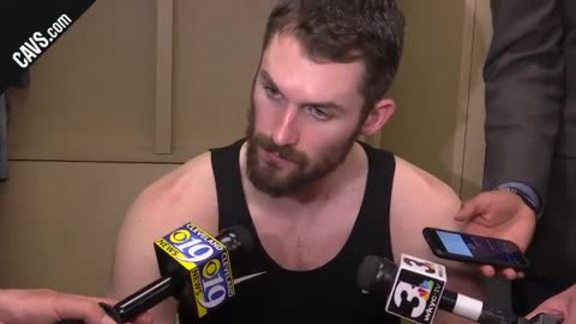 #CavsPacers Game 3 Postgame: Kevin Love - April 20, 2018