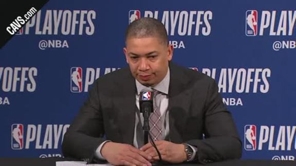 #CavsPacers Game 3 Postgame: Coach Lue - April 20, 2018